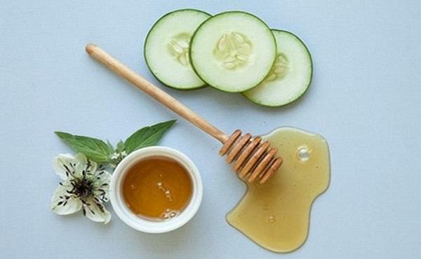 Cách chữa nám da bằng mặt nạ dựa chuột với mật ong