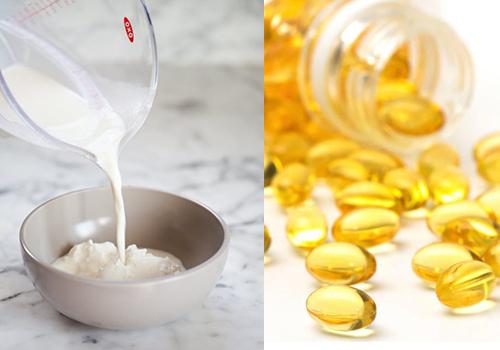 Tác dụng mặt nạ sữa chua không đường và vitamin E